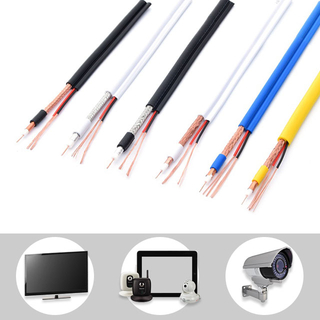 RG59+2DC Coaxial Cable for Camera