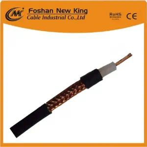 75 Ohm Coaxial Cable Rg59 Rg11 RG6 Double Shielded Cable for Sale