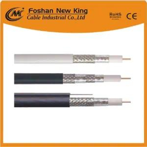 China Factory Direct Tri-Shield RG6 Coaxial Cable 75 Ohm Cable for CATV/CCTV System