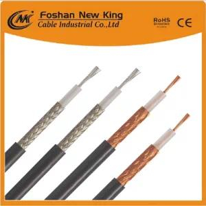 50 Ohm Coaxial Cable Rg58 Communication Telecom with Copper Conductor