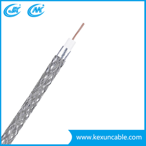 Factory 1.02mm Copper/CCS RG6 CCTV Cable Antenna Cable with Ce/CPR/ISO/RoHS