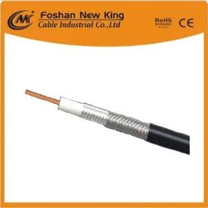 Hot Sell RG6 CATV/CCTV Coaxial Cable with Waterproof PVC Black 305m/Drum