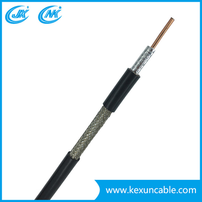 Copper Conduction PE Insulation Video Cable RG6 Coxial Cable Communication Cable Satellite Cable for CATV CCTV Used