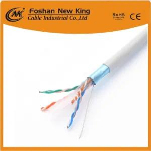 4pairs Network Cable Enthernet Cable UTP Cat5e LAN Cable with Ce RoHS CPR ISO Standard