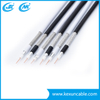 Quad-Shield RG6 Coaxial Cable for CATV CCTV Antenna Cable 18AWG CCS 85% Coverage