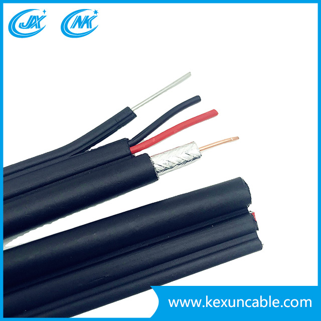 RG6 with Two Power Cable Security /CCTV/CATV Coaxial Cable