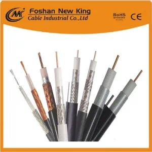 75 Ohm Quad-Shield Rg11 Communication Coaxial Cable for Indoor Trunk Line System
