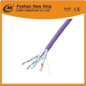 305m Pass Test Indoor PVC Jacket 4 Pair UTP/FTP CAT6 Network Cable 23AWG