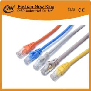 China Factory Indoor Cable Cat5 CAT6 Cat5e Network Cable LAN Cable with RJ45 Connector