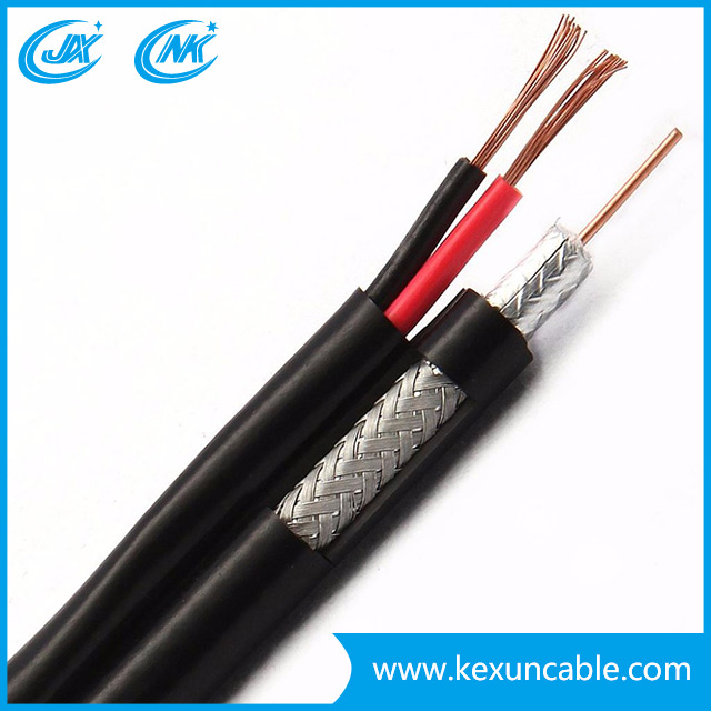 High Quality Rg59 Monitor Surveillance Cable with BNC Connetor Video Power Cable 10m, 50m, 300m