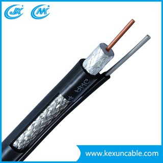 CATV/CCTV Hot Sale Rg59 Rg11 RG6 Coaxial Cable with F Connector ISO RoHS Ce CPR Electronic Communication Cable