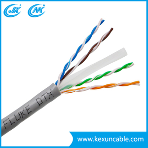 China Best Price Cat 6 UTP Network Cable or LAN Cable computer Cable Data Cable LSZH PVC Jacket 305m