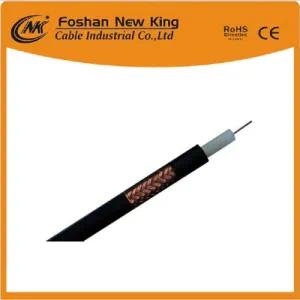Good Attenuation RG6 Antenna Satellite Cable Coaxial Cable with Bc/CCS Conductor Fpe Insulation