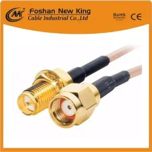 Factory Direct RG6+F- Connector Coaxial Cable with CPR/ISO/Ce/RoHS Certifications