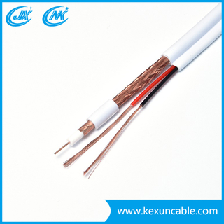 Nice Price Siamese Coaxial Cable Rg59 with Power Cable (Rg59+2DC)