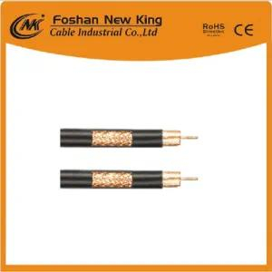 Factory Supply 50 Ohm Rg213 Coaxial Cable with Copper Conductor