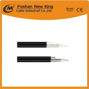 Factory Direct 75 Ohm Coaxial Cable RG6 Rg11 with Messenger (Rg11+M)